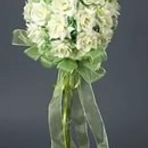 Шар-подвеска из цветов 30см