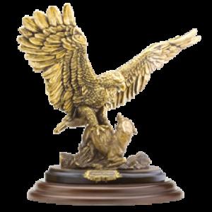 Статуэтка Поединок орла с шакалом