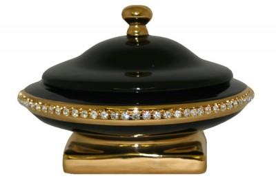 Шкатулка Ahura Аркада черная