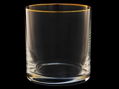 """Набор стаканов  для виски """"Гольф""""  """"Золотая отводка"""""""