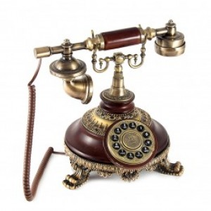 Телефон ретро 27*28*27см