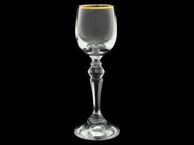 """Бокал для вина """"Золотая отводка"""""""