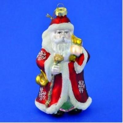 """Елочное украшение """"Дед Мороз"""", 8*6*15см."""