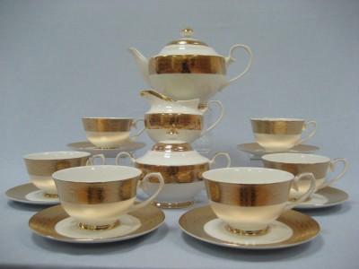"""Сервиз чайный на 6 персон 17 предметов """"Цезарь"""""""