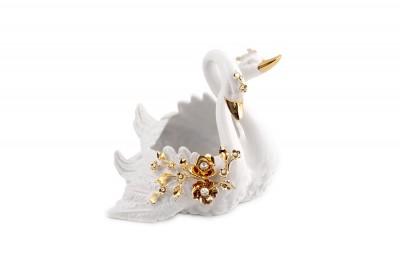 Ваза декоративная Лебеди