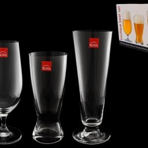 Набор из 3-х бокалов для разных сортов пива (460, 420, 380)