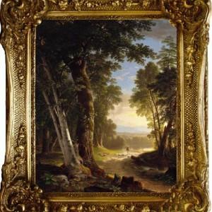 """Картина """"Лесной пейзаж"""""""
