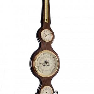 Часы-метеостанция:часы, барометр, термометр, гидрометр