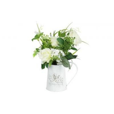 """Декоративные цветы """"Розы белые"""""""