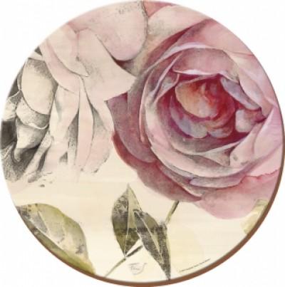 Подставки на пробке D 29 см Античная роза