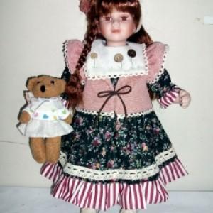 Кукла фарфоровая 41 см Натали