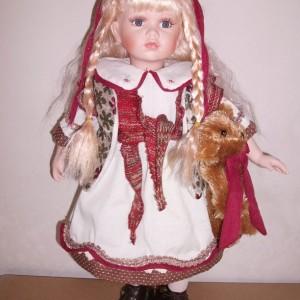 Кукла фарфоровая 51 см Эстелла