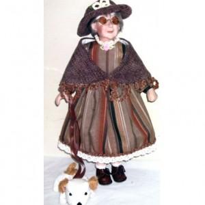 Кукла фарфоровая 41 см Генриетта