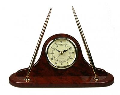 Часы настольные с ручкой  27*13*8см