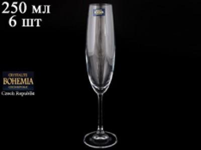 Набор фужеров для шампанского 250 мл BARBARA (6 шт)
