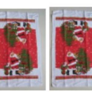 """Набор в подар. коробке """"Письмо Деду Морозу"""": 2 полотенца"""
