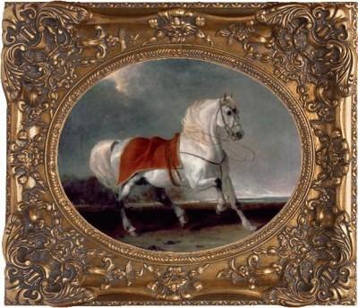 """Картина """"Арабский конь"""""""