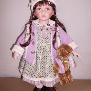Кукла фарфоровая 51 см Катарина