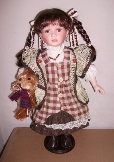 Кукла фарфоровая 51 см Роксана