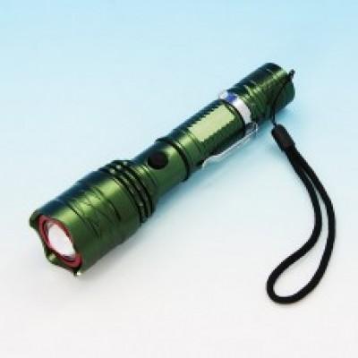 Светодиод. фонарь энергосберег., метал, d линзы 25мм,