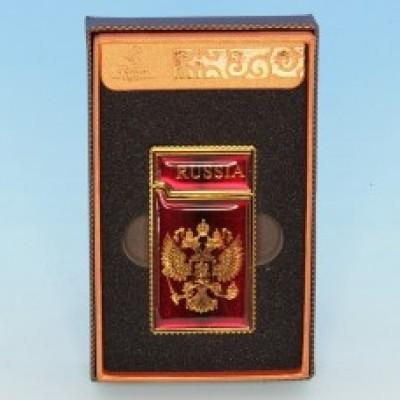 Зажигалка RUSSIA 35*10*64мм