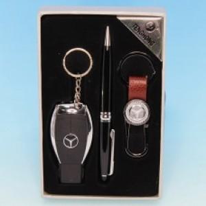 """Подарочный набор """"Mercedes-Benz"""": зажигалка, ручка, брелок"""