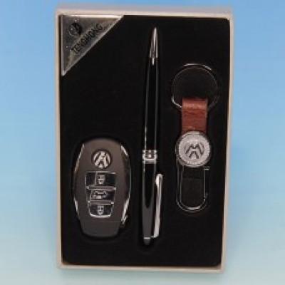 """Подарочный набор """"Volkswagen"""" : зажигалка, ручка, брелок"""