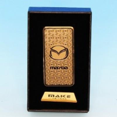 Зажигалка Mazda с зарядкой USB 33*10*68мм