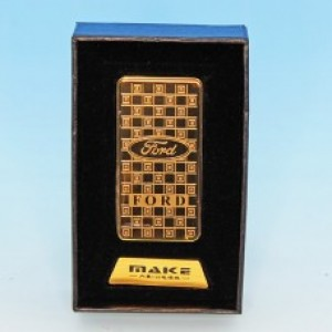 Зажигалка Ford с зарядкой USB 33*10*68мм