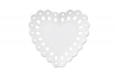 Тарелка (сердце)  в подарочной упаковке