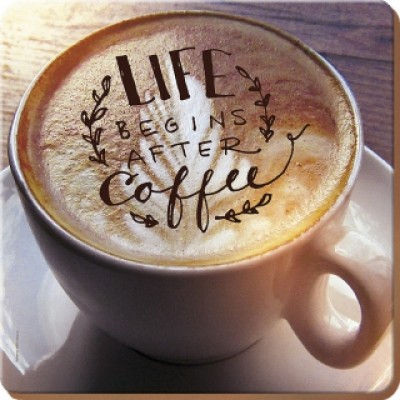 Подставки на пробке Кружка кофе 29х29 см (4 шт)