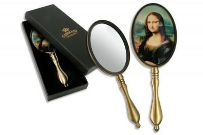 Зеркало ручное , Леонардо да Винчи, Джоконда