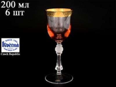 Набор бокалов для вина 200 мл Джесси