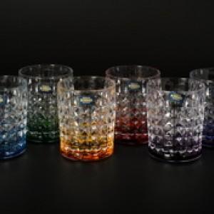 Набор стаканов для виски 230 мл DIAMOND Ассорти