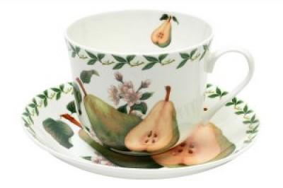 Чашка с блюдцем Груша