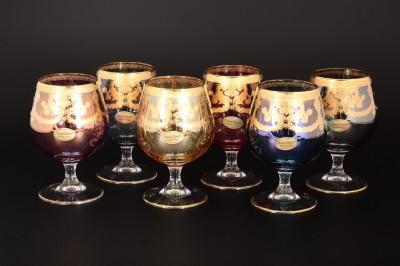 Набор бокалов для бренди Veneziano Color