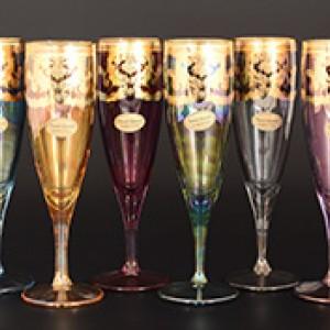 Набор фужеров для шампанского Veneziano Color