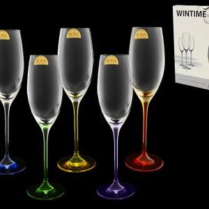 """Набор бокалов для шампанского""""Wintime""""Арлекино"""