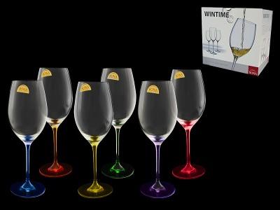 """Набор бокалов для вина""""Wintime""""Арлекино"""