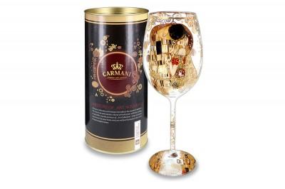 Бокал для вина Поцелуй (Г.Климт)