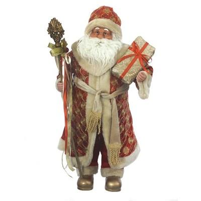 Дед Мороз, L37 W27 H70 см