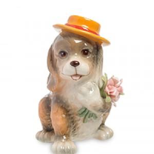"Статуэтка ""Собака с букетом"" (Pavone)"