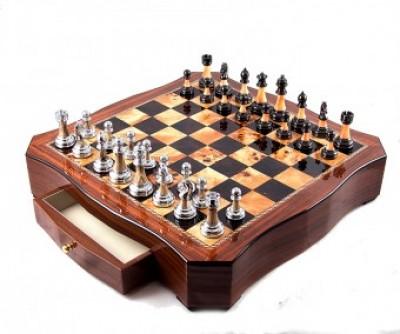 """Игра настольная """"Шахматы"""" 49*49*10см"""