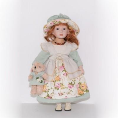 Кукла фарфоровая 56 см Скарлетт