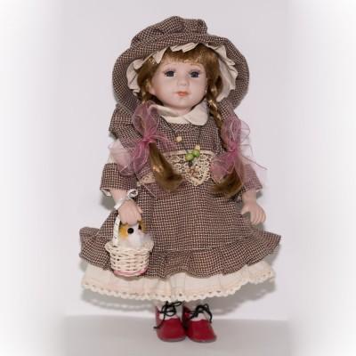 Кукла фарфоровая Адель 30,5 см