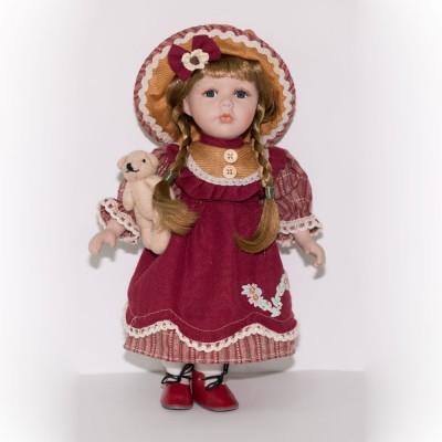 Кукла фарфоровая Надин 30,5 см