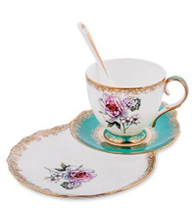"""Чайная пара """"Цветок Неаполя"""" (Pavone)"""