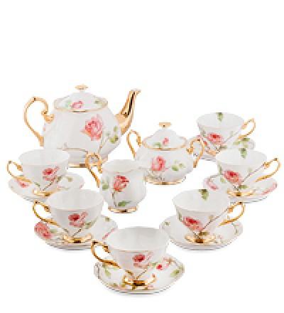 """Чайный сервиз на 6 перс.""""Итальянская роза"""""""