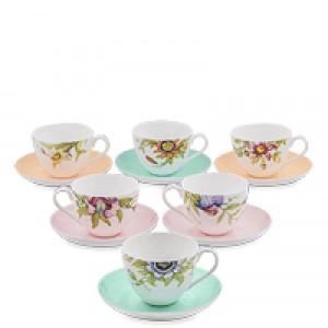 """Чайный набор на 6 перс.""""Сады Примадонны"""""""