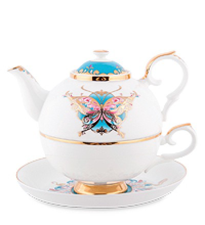 """Чайный набор """"Песня Мотылька"""" (Pavone)"""
